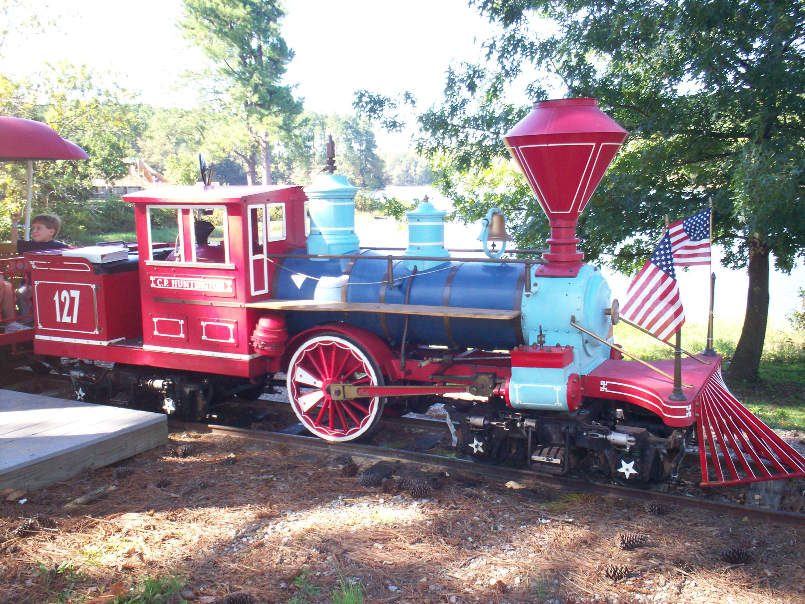 Riding The Train At High Point City Lake Park Welcome To